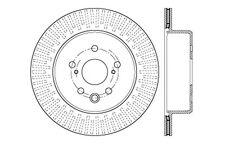 Centric Parts 121.44189 Rear Disc Brake Rotor