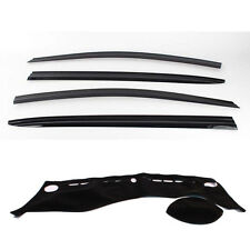 Weathershields with Dash mat for 2013 - 2016 KIA Cerato Hatch