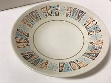 Taylorstone Moderne Coupe Soup Bowl Atomic Starburst MidCentury SUPERB CONDITION