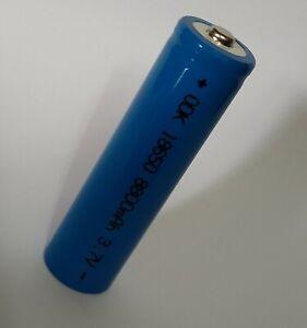 batteria pila ricaricabile a litio 3,7 v. 8800 mha / 35 grammi