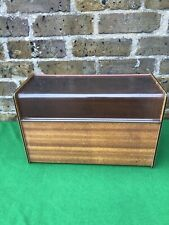 1970's Vintage 7 Inch Vinyl Record Storage Unit