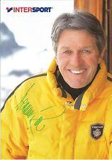 Autogramm Bernhard Russi Ski alpine Olympiasieger Weltmeister Schweiz 70er A5