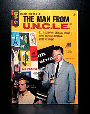 COMICS: Gold Key: Man From U.N.C.L.E. #6 (1966) - RARE