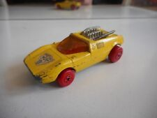 Matchbox Superfast Mod Rod in Yellow / Red Wheels