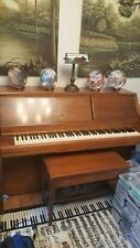 Hardman Duo New York c1963 Player Piano Foot Operated or Electric one owner