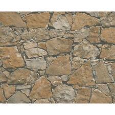As Creation Casa De Campo Pared De Piedra Estampado ladrillo con relieve
