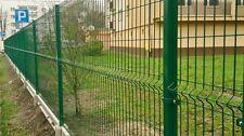 Zaun Gartenzaun 3D 15 lfm 103cm Hoch Zaun Einstabmattenzaun inkl Pfosten
