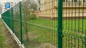 Zaun Gartenzaun 3D 80 lfm 103cm Hoch Zaun Ink. 2 Tore 1m breit Anthrazit