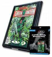 5 BCW Current/Modern Comic Book Showcases Wall Mountable Display Frame