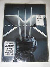 NEW X-Men: The Last Stand (DVD, 2006, Stan Lee Collector's Edition; Bonus Book)