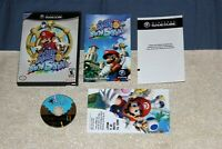 Super Mario Sunshine (Nintendo GameCube 2002) Complete Black Label CIB Tested
