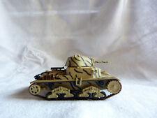 Tank char blindé à identifier 1/72 - M13 Egypte El alamein Littorio 1942 - Ixo