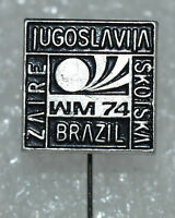 Yugoslavia Brazil Scotland Germany 1974 WM 74 FIFA Football World Cup pin Group