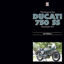 The book of Ducati 750 SS Greenframe 1974 roundcase Author signed brand new