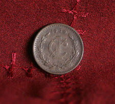 Mexico 1 Centavo 1939 Bronze World Coin Eagle wreath KM415 one cent Nice Details