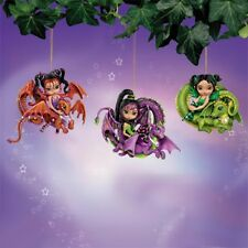 Fairy Dragonling Ornaments #1 Jasmine Becket Griffith Bradford Exchange