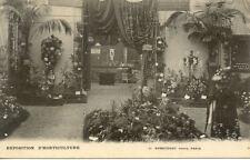 PARIS exposition d'horticulture éd nobecourt édouard DEBRIE rue des capucines