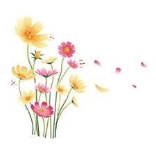 Chrysanthemums Butterflies Dragonflies Garden Wall Decal PVC Home Sticker CHR