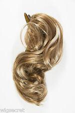 8 in Short Wavy Blonde Brunette Red Hair Pieces