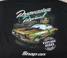 "Snap-on Tools ""Restoration Revival"" Graphic T-shirt Size 3XL"