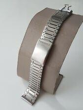 Seiko XLB-150 Original Vintage 18mm Uhrenarmband Massiv Edelstahl Rarität