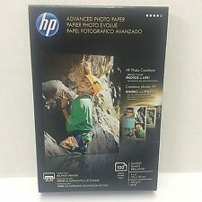 HP Advanced Photo Paper - 4 x 6 Glossy Inkjet Printer - 100 SHEET PACK - Q6638A