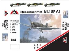 1/48 Bf-109A1 - NEW AMG multimedia kit (+ PE, resin) !