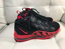 06ef169193d9 Nike Air Max Pillar 525226-011 Black Sport Red Jerry Rice Retro 2012 Shoes  Sz