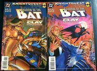 BATMAN SHADOW OF THE BAT 26 27 VF+ Two-Part Story CLAYFACE ABATTOIR DC Comics