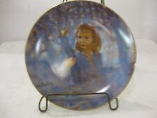 Butterfly Magic Collectible Plate Portraits Of Childhood 1981 Limited Edition