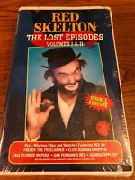Red Skelton The Lost Episodes I & II New / Sealed VHS VCR Video Tape Movie