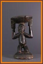 LUBA STOOL AFRICAN TRIBAL ART AFRICAIN ARTE AFRICANA AFRIKANISCHE KUNST **
