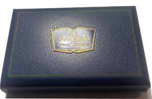 Vintage 1950s Omega Watch BOX ONLY Blue NR