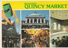 "*Massachusettes Postcard-""Boston's Quincy Market""  /aka;Faneuil Hall/ (U2-247)"