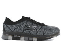 Skechers Go Flex Ability Ladies Sneaker Shoes Fitness Shoes Walk Black 14011