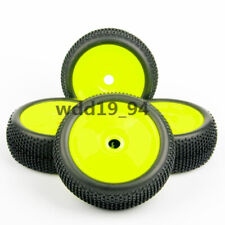 1:8 4x 17mm Hex Car Off-Road Ruber Tire Wheel Rim Tyres F HPI HSP RC Buggy model