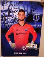 Hamburger SV + Original Autogrammkarte 2020/2021 + Sven Ulreich + AK2021083