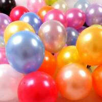100X 12 inches latex Pearlised balloons wedding birthday anniversary Colours