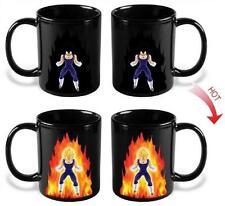 new Dragon Ball Z Vegeta Super Saiyan Heat Reactive Color Change Coffee Mug Cup