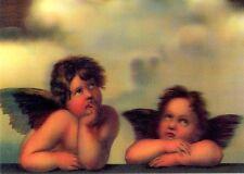 3D Lenticular Postcards - Angels, Raffael