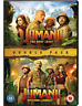 Jumanji: The Next Level & Welcome To The Jungle DVD NEUF