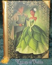 Disney Designer Fairytale Doll Collection Princess Tiana Journal LE NEW