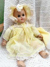 """20s-30s VTG Madame Alexander Composition BITSY Doll 11"""" Original Dress"""