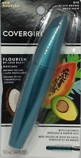 Covergirl Flourish By Lash Blast Mascara 810 Black Brown New .44 fl.oz.