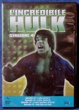 L'INCREDIBILE HULK - STAGIONE 4 - EPISODI 12-15 - DVD N.02630