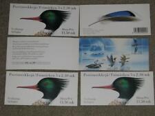 Finland-Water Birds Booklets Scott# 925a (5), all MNH