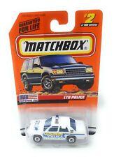 Matchbox MBX Superfast 1999 No 2 Ford LTD Police weiß USA exlusiv Modell