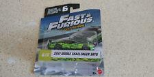 Fast & Furious Camo Series #6 2011 Dodge Challenger SRT8 2017 Mattel MOC