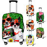 Dog Cat Cute Luggage Cover Spandex Suitcase Protect Case Dust-proof 18 24 26 28