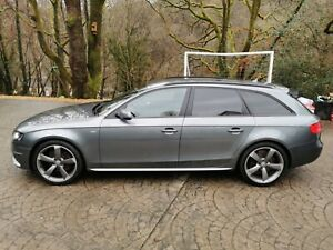 Audi A4 S line black edition Avant 1.8 TFSI Estate 6 Speed Manual
